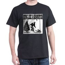 Hung Like a Sasquatch T-Shirt