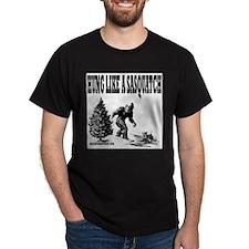 Hung Like a Sasquatch T-Shirt