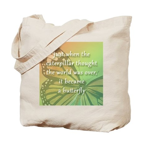 """""""Be the Butterfly"""" Tote Bag"""
