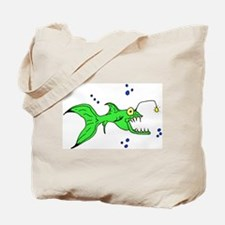 Crazy Fish Tote Bag
