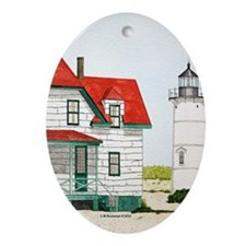 Forgotten Light Ornament (Oval)