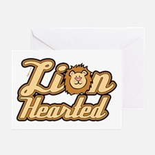 Lion Hearted Greeting Cards (Pk of 10)