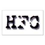 HFC Rectangular Sticker