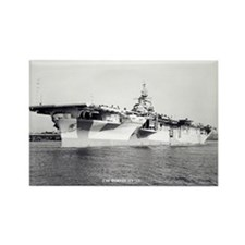 USS HORNET Rectangle Magnet