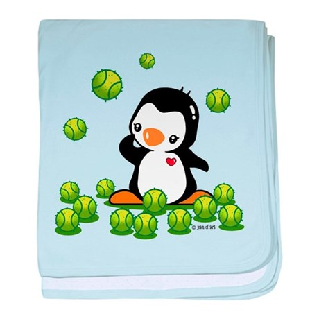 Cute Penguin baby blanket