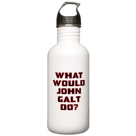 What Would J. Galt Do? Stainless Water Bottle 1.0L