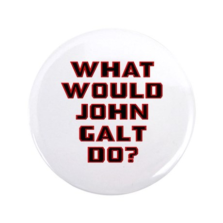 "What Would J. Galt Do? 3.5"" Button"