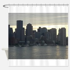 Funny Cityscape Shower Curtain