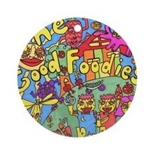 The Good Foodies Ornament (Round)