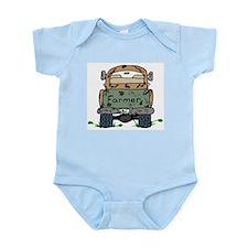 Farm Truck Infant Creeper