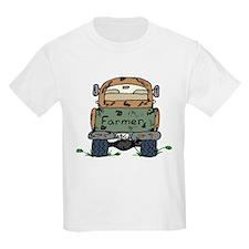 Farm Truck Kids T-Shirt