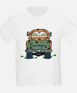Farm Truck Kids T-Shirt