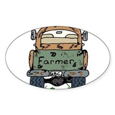 Farm Truck Oval Decal