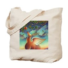 Magical Deer of Santa Fe Tote Bag