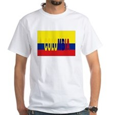Colombia flag & written Shirt