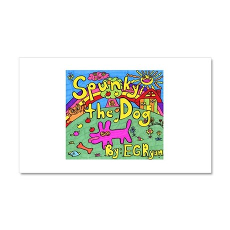 Spunky the Dog Car Magnet 20 x 12