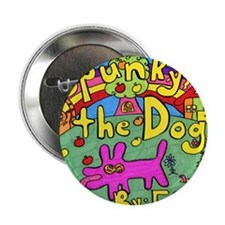 "Spunky the Dog 2.25"" Button"