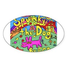 Spunky the Dog Decal