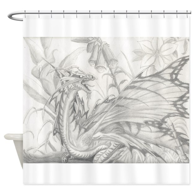 Tattoo art shower curtain by msanthropysgravenimages for How to shower with a new tattoo