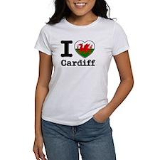 I love Cardiff Tee