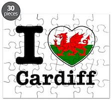 I love Cardiff Puzzle