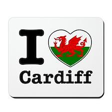 I love Cardiff Mousepad