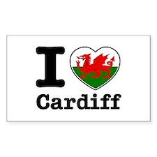 I love Cardiff Decal