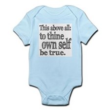 Shakespeare To Thy Own Self Be True Onesie