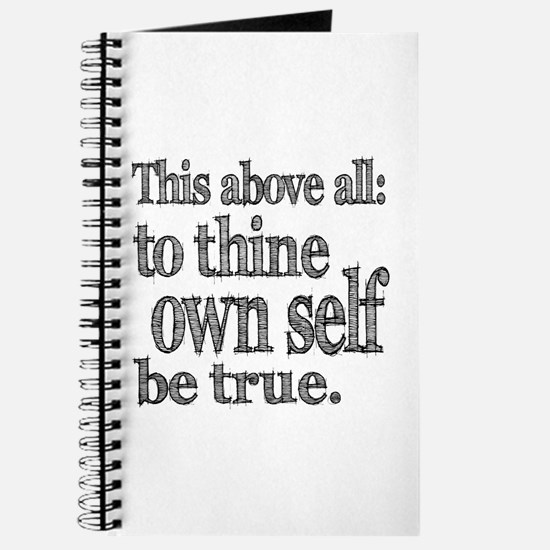Shakespeare To Thy Own Self Be True Journal