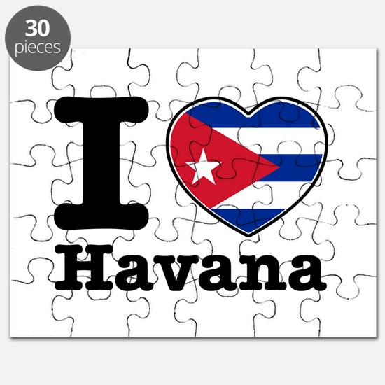 I love Havana Puzzle