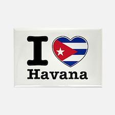 I love Havana Rectangle Magnet