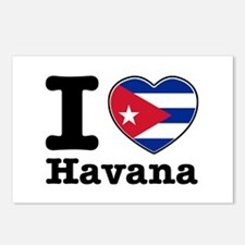 I love Havana Postcards (Package of 8)