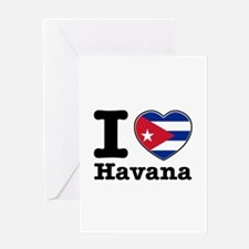 I love Havana Greeting Card