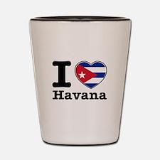 I love Havana Shot Glass