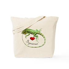 Love Iguanas Tote Bag