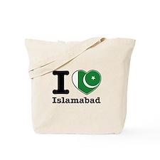I love Islamabad Tote Bag