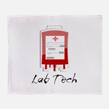 Microbiology/Lab Throw Blanket