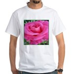 First Rose on Deck White T-Shirt