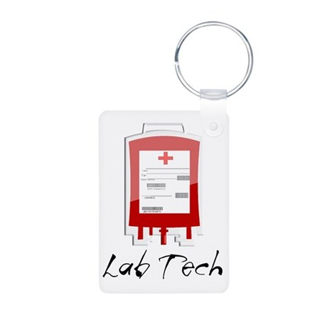Microbiology/Lab Aluminum Photo Keychain