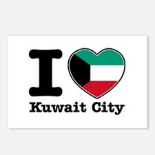 I love Kuwait City Postcards (Package of 8)