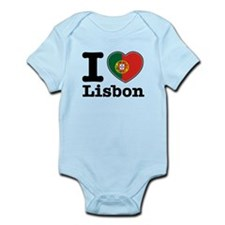 I love Lisbon Infant Bodysuit