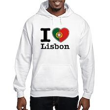 I love Lisbon Jumper Hoody
