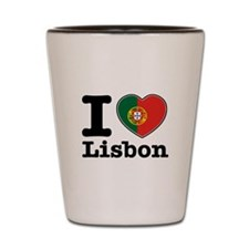 I love Lisbon Shot Glass