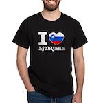 I love Ljubljana Dark T-Shirt