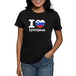 I love Ljubljana Women's Dark T-Shirt
