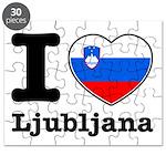 I love Ljubljana Puzzle