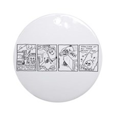 Outer Space 3 Ornament (Round)