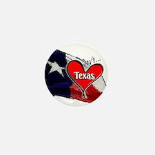 Love Texas II Mini Button
