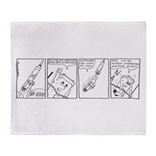Outer Space 4 Throw Blanket