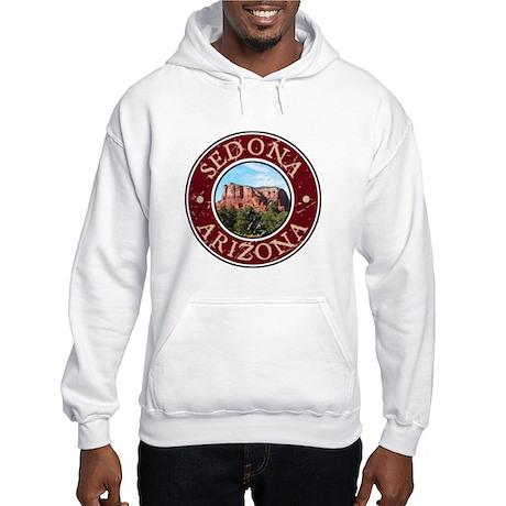 Sedona, AZ - Castle Rock Hooded Sweatshirt